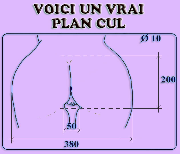 plan cul be Vaulx-en-Velin