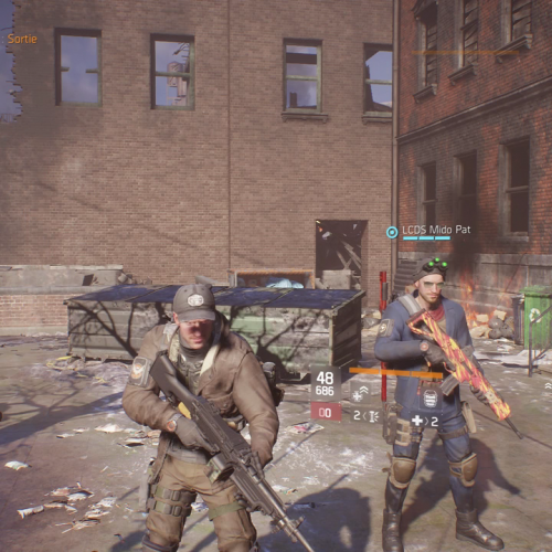 GALERIE D'IMAGE INGAME Division 2
