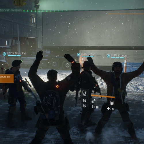 GALERIE D'IMAGE INGAME Division 3