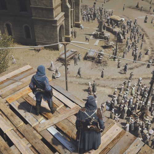 GALERIE D IMAGE INGAME Assassin s creed Unity 1
