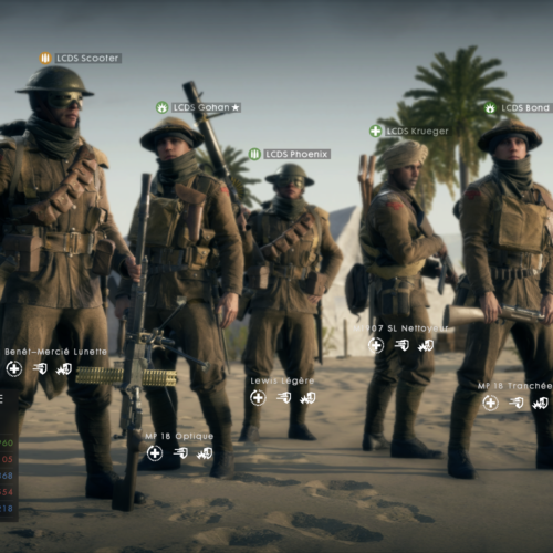 GALERIE D'IMAGE INGAME BF 1 1