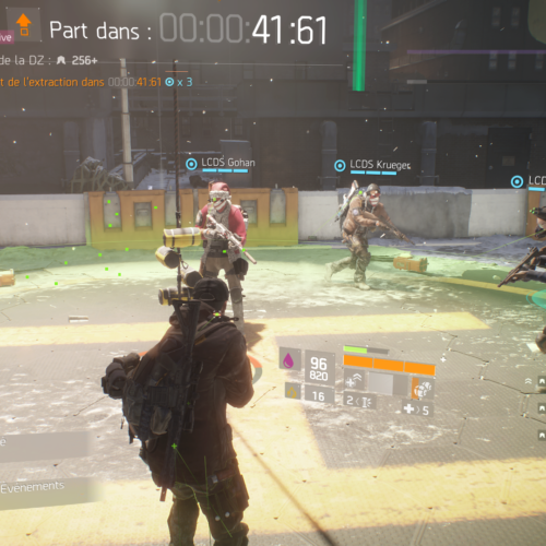GALERIE D'IMAGE INGAME Division 4