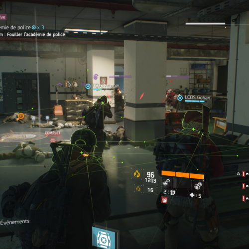 GALERIE D'IMAGE INGAME Division 5