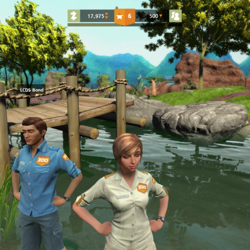 GALERIE D'IMAGE INGAME Zoo 01